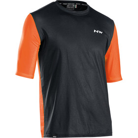 Northwave Xtrail Short Sleeve Jersey Men, black/orange